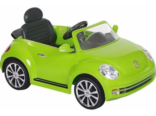 auto coche electrico bateria new beetle 6v control niños