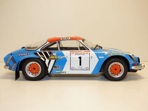 auto colección alpine renault a110 - escala 1/18