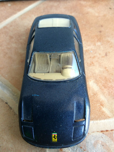 auto coleccion burago escala 1/43 ferrari 456 gt ruedas goma