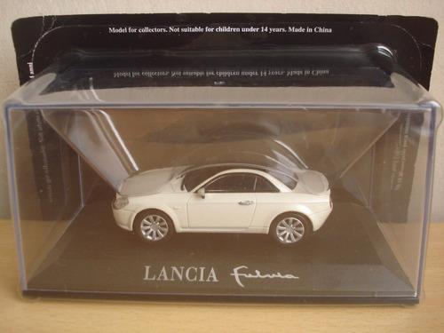 auto coleccion concept cars altaya - lancia fulvia