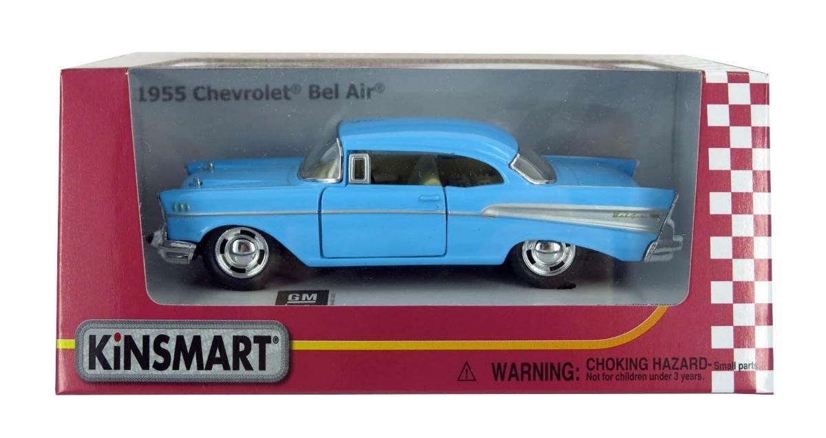 Auto Coleccin Metal 1957 Chevrolet Bel Air Kinsmart 12cuota 649
