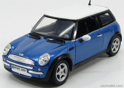 auto coleccion motormax escala 1:18 mini cooper
