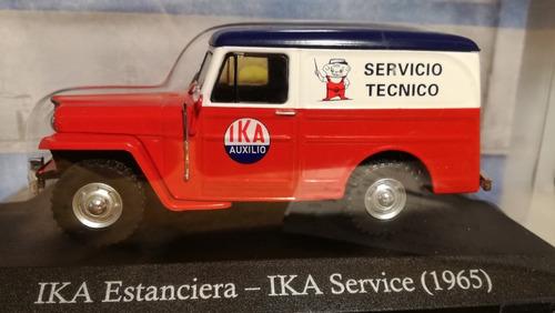 auto coleccionable ika estaciera - ika service (1965) 1:43