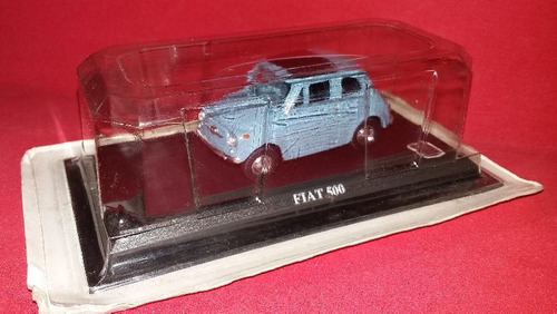 auto collection - fiat 500 - miniatura
