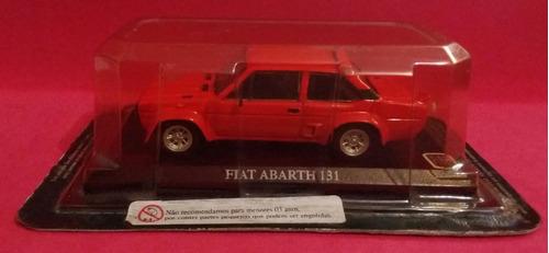 auto collection - fiat abarth 131 - miniatura