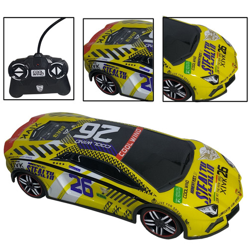 auto de carrera a control remoto /  juguete / camion / camio