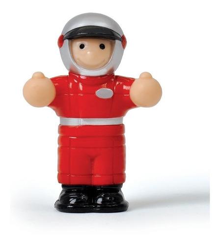 auto de carrera con muñeco robbie  mini wow