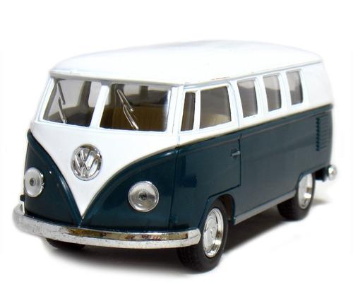 auto de colección 1962 volkswagen classic bus licencia