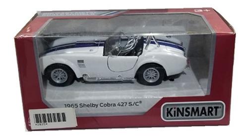 auto de coleccion 1965 shelby cobra 427 s/c escala 1:36