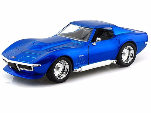 auto de coleccion 1969 chevy corvette stingray metal orig.