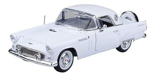 auto de colección a escala 1/18 1956 ford thunderbird