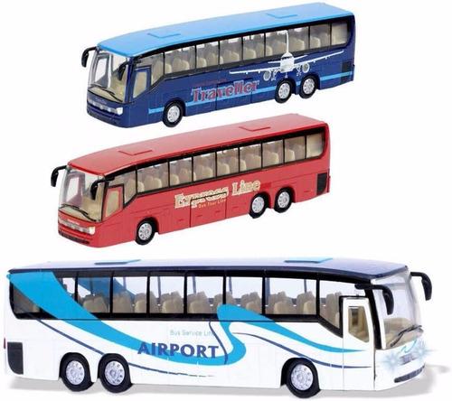 auto de colección autobus partes metal bus teamsterz