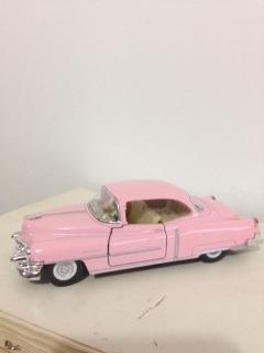 auto de colección cadillac 1953   12cm aprox esc 1 43 divino