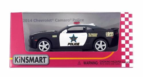 auto de colección chevrolet 2014 camaro policia