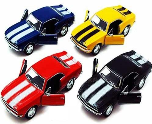 auto de colección chevrolet camaro z28 1967 - kinsmart