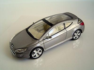 auto de coleccion concept cars altaya- peugeot 407 elixir