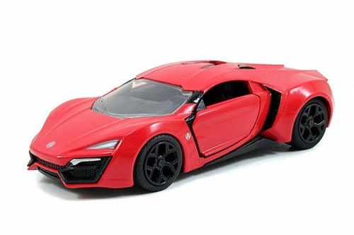 auto de coleccion fast & furious lykan kypersport original