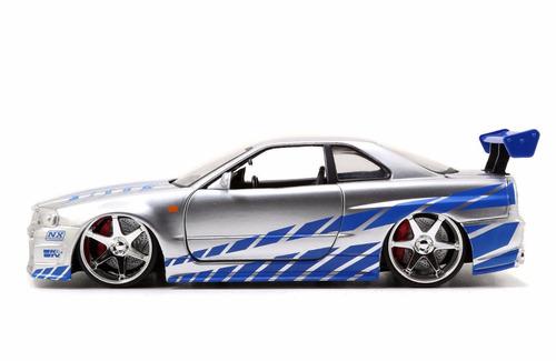 auto de coleccion fast & furious nissan skyline gt-r  orig.