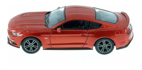 auto de colección ford mustang gt 2015 licencia