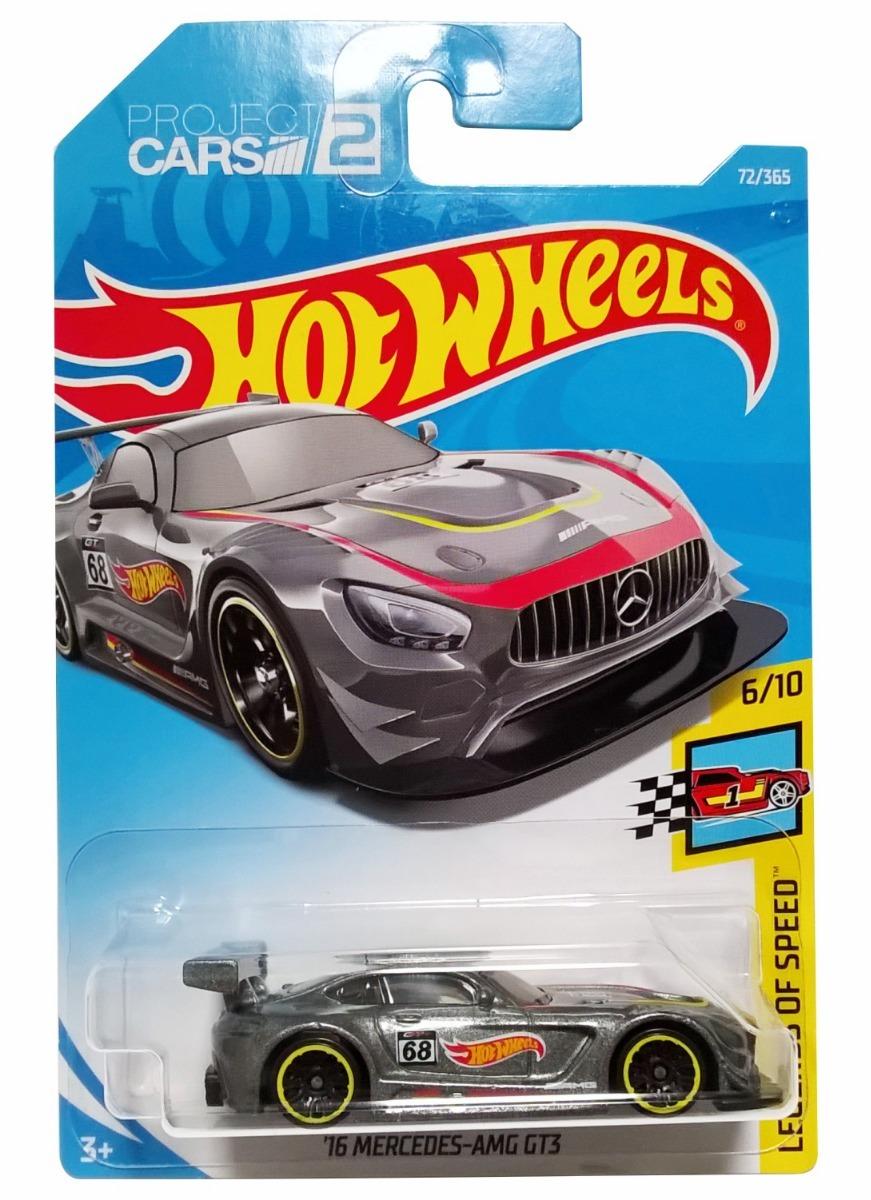 Auto Mercedes 64 Hot Wheels Colección Fjv46 Amg De 1 16 Gt3 JluK3FT1c