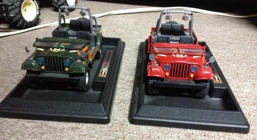 auto de coleccion jeep wangler