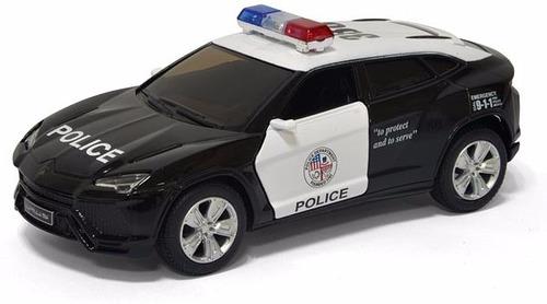 auto de colección lamborghini urus policia