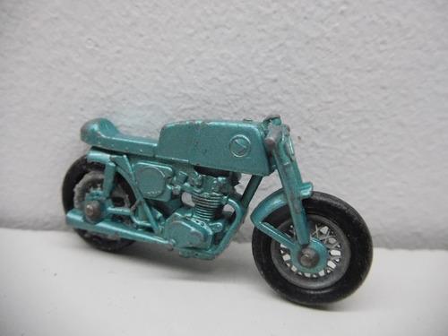 auto de coleccion matchbox moto honda con trailer