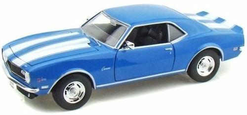 auto de colección metal 1968 chevrolet camaro z 28 welly