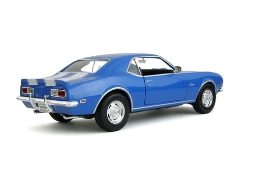 auto de colección metal 1968 chevrolet camaro z28 welly