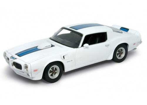 auto de colección metal 1972 pontiac firebird trans am welly