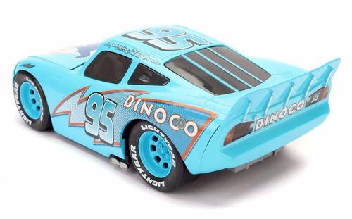auto de colección metal cars dinoco rayo mcqueen original