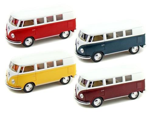 auto de colección mini 1962 volkswagen classic bus 1:64