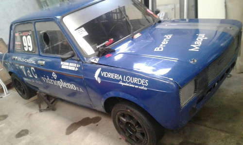 auto de competicion fiat 128 s/motor y s/caja
