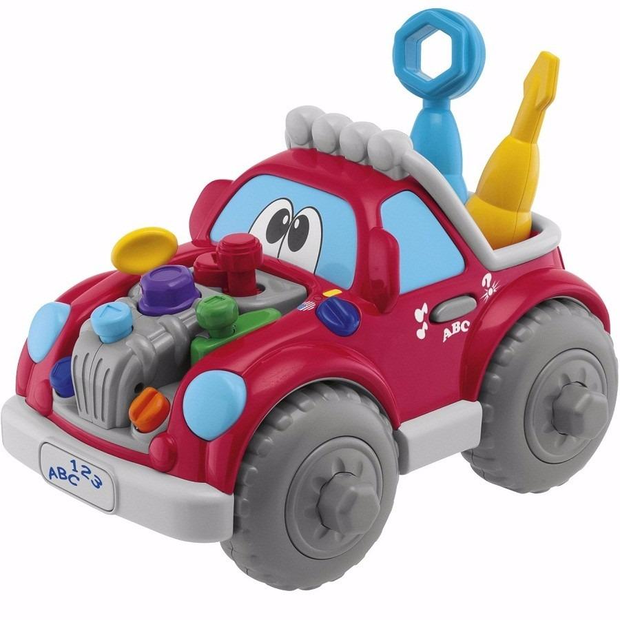 Auto De Juguete Para Bebe Ninos Chicco Musical Con Juegos 1 996