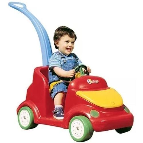 auto de paseo niños rotoys con barral y cinturon 1 a 5 años