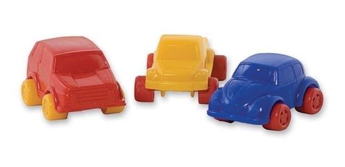 auto de plastico duravit pack x3 unidades micro autos