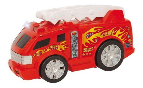 auto ditoys convertible dragon engine camion bombero luces