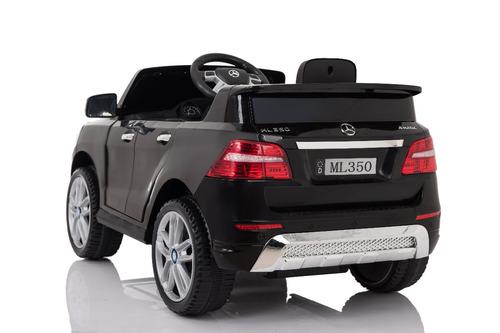 auto electrico 12v mercedes benz ml350 negro (2 motores)
