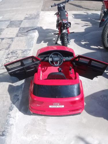 auto electrico audi q7 tambien con control / 2 motores