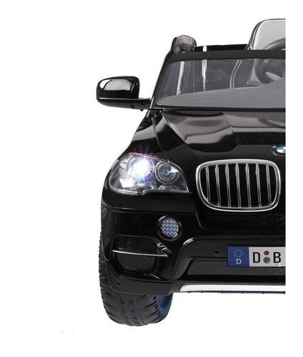 auto eléctrico bmw x5 negro 6v