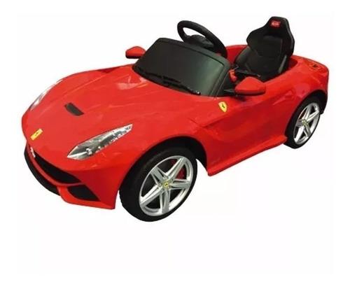 auto electrico ferrari f12 rojo 30707 / fernapet