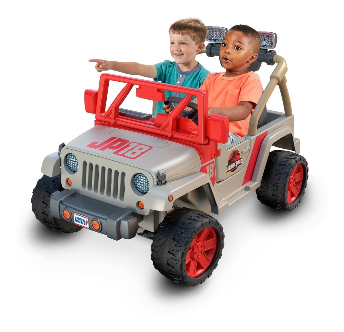 Auto Electrico Jeep Jurassic Park Power Wheels 2 393 550 En