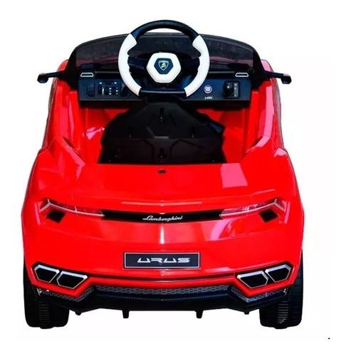 auto electrico lamborghini urus rojo 30973 / fernapet