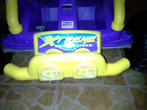 auto eléctrico power wheels ($ a tratar)