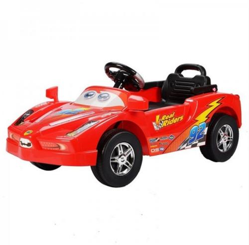 auto electrico radiocontrolado rojo / multistorechile