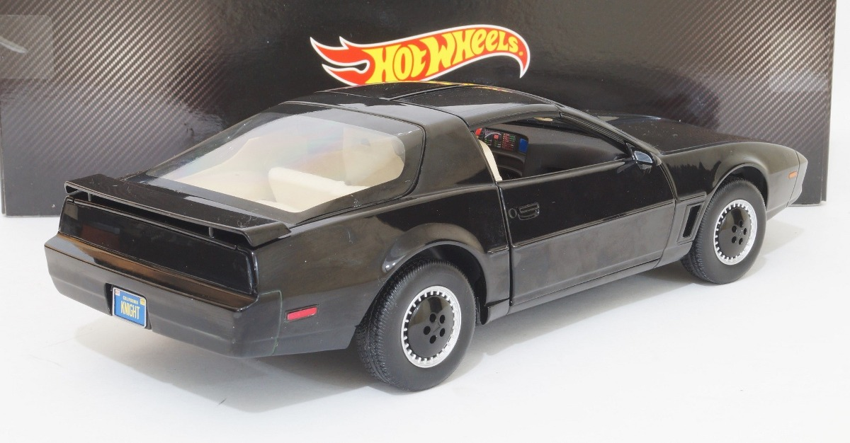 Knight Rider K I T T Auto Increible Escala 1 18 Hot Wheels