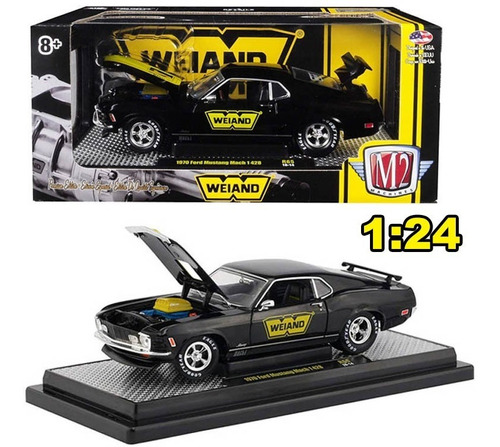 auto escala ford mustang 1970 wave 1/24 m2 sku: 390