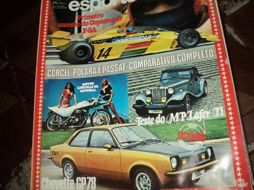 auto esporte 1978 n160