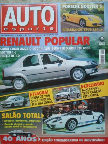 auto esporte 474 novembro de 2004