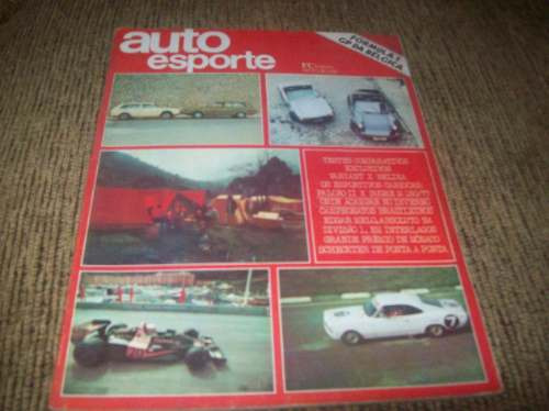 auto esporte junho de 1977